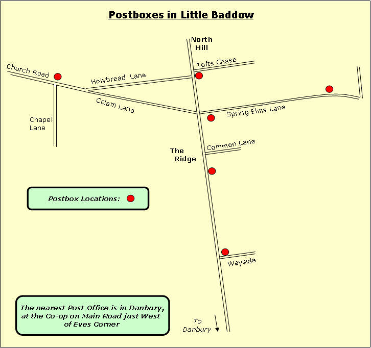 little-baddow-postboxes